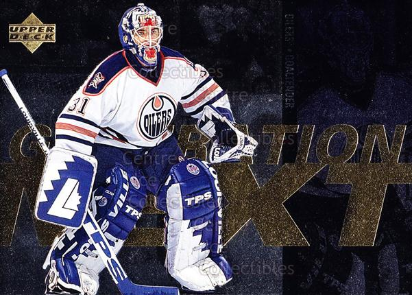 1996-97 Upper Deck Generation Next #27 Curtis Joseph, Eric Fichaud<br/>4 In Stock - $2.00 each - <a href=https://centericecollectibles.foxycart.com/cart?name=1996-97%20Upper%20Deck%20Generation%20Next%20%2327%20Curtis%20Joseph,%20...&quantity_max=4&price=$2.00&code=53919 class=foxycart> Buy it now! </a>
