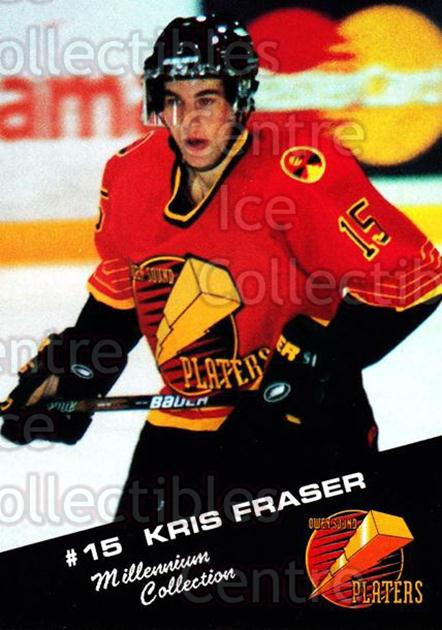 1999-00 Owen Sound Platers #7 Kris Fraser<br/>3 In Stock - $3.00 each - <a href=https://centericecollectibles.foxycart.com/cart?name=1999-00%20Owen%20Sound%20Platers%20%237%20Kris%20Fraser...&quantity_max=3&price=$3.00&code=539304 class=foxycart> Buy it now! </a>