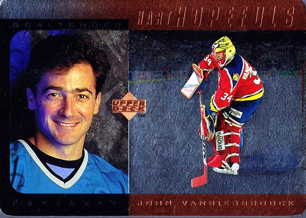 1996-97 Upper Deck Hart Hopefuls Bronze #6 John Vanbiesbrouck<br/>1 In Stock - $3.00 each - <a href=https://centericecollectibles.foxycart.com/cart?name=1996-97%20Upper%20Deck%20Hart%20Hopefuls%20Bronze%20%236%20John%20Vanbiesbro...&quantity_max=1&price=$3.00&code=53938 class=foxycart> Buy it now! </a>