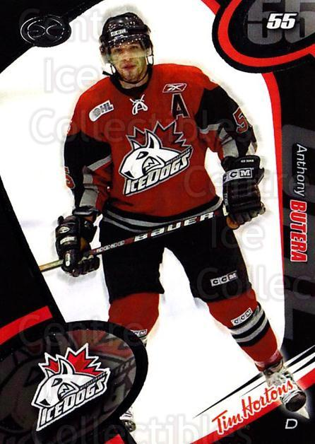 2004-05 Mississauga Ice Dogs #1 Anthony Butera<br/>5 In Stock - $3.00 each - <a href=https://centericecollectibles.foxycart.com/cart?name=2004-05%20Mississauga%20Ice%20Dogs%20%231%20Anthony%20Butera...&quantity_max=5&price=$3.00&code=539428 class=foxycart> Buy it now! </a>