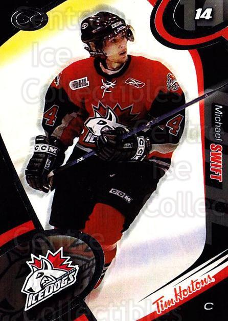 2004-05 Mississauga Ice Dogs #8 Michael Swift<br/>3 In Stock - $3.00 each - <a href=https://centericecollectibles.foxycart.com/cart?name=2004-05%20Mississauga%20Ice%20Dogs%20%238%20Michael%20Swift...&quantity_max=3&price=$3.00&code=539435 class=foxycart> Buy it now! </a>