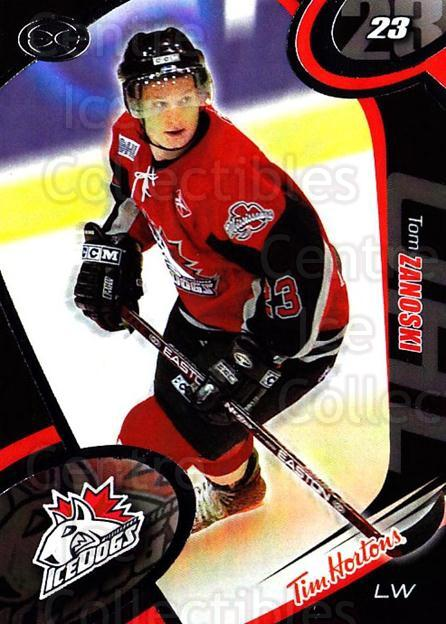 2004-05 Mississauga Ice Dogs #11 Tom Zanoski<br/>4 In Stock - $3.00 each - <a href=https://centericecollectibles.foxycart.com/cart?name=2004-05%20Mississauga%20Ice%20Dogs%20%2311%20Tom%20Zanoski...&quantity_max=4&price=$3.00&code=539438 class=foxycart> Buy it now! </a>