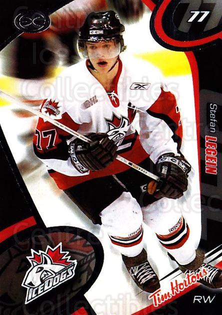 2004-05 Mississauga Ice Dogs #21 Stefan Legein<br/>5 In Stock - $3.00 each - <a href=https://centericecollectibles.foxycart.com/cart?name=2004-05%20Mississauga%20Ice%20Dogs%20%2321%20Stefan%20Legein...&quantity_max=5&price=$3.00&code=539448 class=foxycart> Buy it now! </a>
