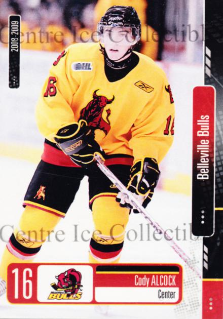 2008-09 Belleville Bulls #5 Cody Alcock<br/>5 In Stock - $3.00 each - <a href=https://centericecollectibles.foxycart.com/cart?name=2008-09%20Belleville%20Bulls%20%235%20Cody%20Alcock...&price=$3.00&code=539527 class=foxycart> Buy it now! </a>