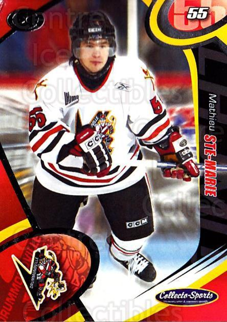 2004-05 Drummondville Voltigeurs #7 Mathieu Ste. Marie<br/>2 In Stock - $3.00 each - <a href=https://centericecollectibles.foxycart.com/cart?name=2004-05%20Drummondville%20Voltigeurs%20%237%20Mathieu%20Ste.%20Ma...&price=$3.00&code=539580 class=foxycart> Buy it now! </a>