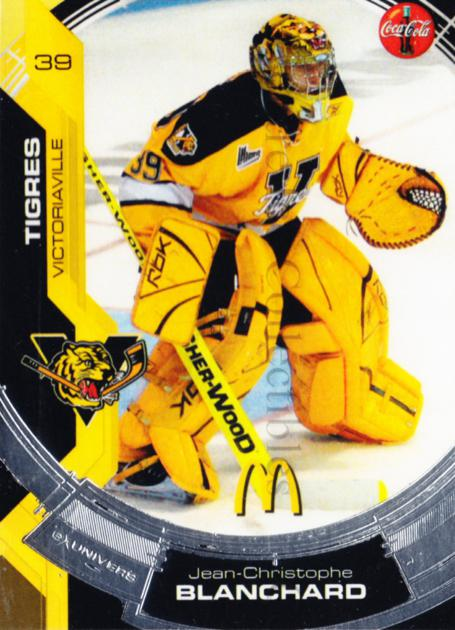 2006-07 Victoriaville Tigres #3 Jean-Christophe Blanchard<br/>2 In Stock - $3.00 each - <a href=https://centericecollectibles.foxycart.com/cart?name=2006-07%20Victoriaville%20Tigres%20%233%20Jean-Christophe...&quantity_max=2&price=$3.00&code=539659 class=foxycart> Buy it now! </a>