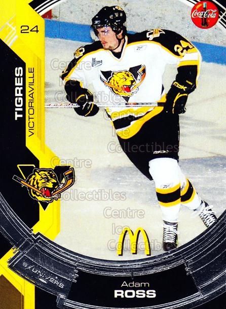 2006-07 Victoriaville Tigres #17 Adam Ross<br/>1 In Stock - $3.00 each - <a href=https://centericecollectibles.foxycart.com/cart?name=2006-07%20Victoriaville%20Tigres%20%2317%20Adam%20Ross...&quantity_max=1&price=$3.00&code=539673 class=foxycart> Buy it now! </a>