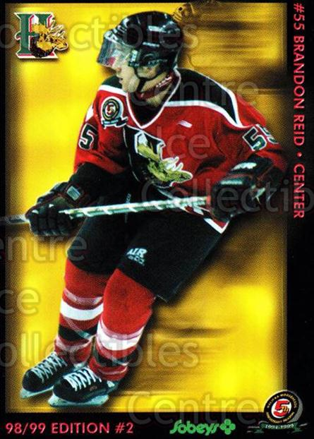 1998-99 Halifax Mooseheads Series Two #17 Brandon Reid<br/>2 In Stock - $3.00 each - <a href=https://centericecollectibles.foxycart.com/cart?name=1998-99%20Halifax%20Mooseheads%20Series%20Two%20%2317%20Brandon%20Reid...&quantity_max=2&price=$3.00&code=539833 class=foxycart> Buy it now! </a>