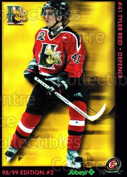 1998-99 Halifax Mooseheads Series Two #18 Tyler Reid<br/>6 In Stock - $3.00 each - <a href=https://centericecollectibles.foxycart.com/cart?name=1998-99%20Halifax%20Mooseheads%20Series%20Two%20%2318%20Tyler%20Reid...&quantity_max=6&price=$3.00&code=539837 class=foxycart> Buy it now! </a>