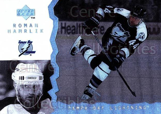1996-97 UD Ice #102 Roman Hamrlik<br/>9 In Stock - $1.00 each - <a href=https://centericecollectibles.foxycart.com/cart?name=1996-97%20UD%20Ice%20%23102%20Roman%20Hamrlik...&quantity_max=9&price=$1.00&code=53983 class=foxycart> Buy it now! </a>