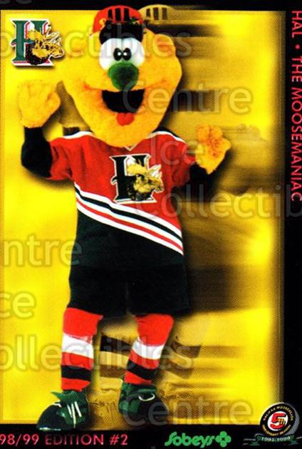 1998-99 Halifax Mooseheads Series Two #26 Mascot<br/>4 In Stock - $3.00 each - <a href=https://centericecollectibles.foxycart.com/cart?name=1998-99%20Halifax%20Mooseheads%20Series%20Two%20%2326%20Mascot...&quantity_max=4&price=$3.00&code=539856 class=foxycart> Buy it now! </a>