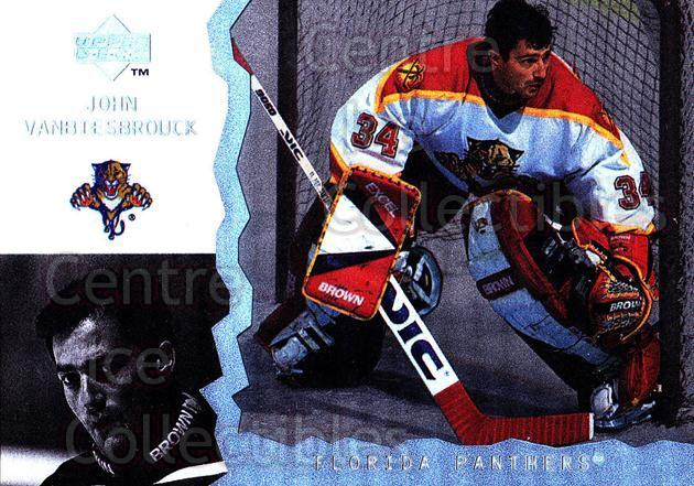 1996-97 UD Ice #110 John Vanbiesbrouck<br/>9 In Stock - $1.00 each - <a href=https://centericecollectibles.foxycart.com/cart?name=1996-97%20UD%20Ice%20%23110%20John%20Vanbiesbro...&quantity_max=9&price=$1.00&code=53987 class=foxycart> Buy it now! </a>