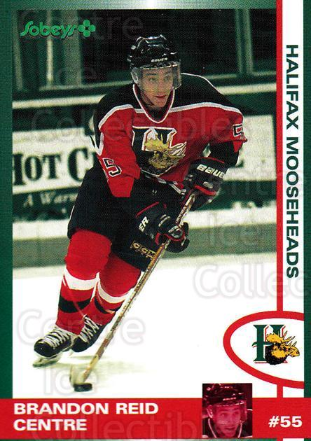 1997-98 Halifax Mooseheads Series Two #18 Brandon Reid<br/>1 In Stock - $3.00 each - <a href=https://centericecollectibles.foxycart.com/cart?name=1997-98%20Halifax%20Mooseheads%20Series%20Two%20%2318%20Brandon%20Reid...&quantity_max=1&price=$3.00&code=539891 class=foxycart> Buy it now! </a>