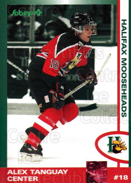1997-98 Halifax Mooseheads Series Two #22 Alex Tanguay<br/>1 In Stock - $5.00 each - <a href=https://centericecollectibles.foxycart.com/cart?name=1997-98%20Halifax%20Mooseheads%20Series%20Two%20%2322%20Alex%20Tanguay...&quantity_max=1&price=$5.00&code=539892 class=foxycart> Buy it now! </a>