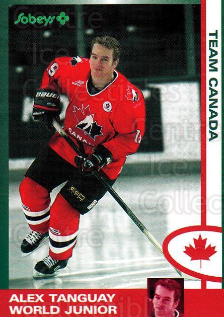 1997-98 Halifax Mooseheads Series Two #23 Alex Tanguay<br/>3 In Stock - $5.00 each - <a href=https://centericecollectibles.foxycart.com/cart?name=1997-98%20Halifax%20Mooseheads%20Series%20Two%20%2323%20Alex%20Tanguay...&quantity_max=3&price=$5.00&code=539893 class=foxycart> Buy it now! </a>