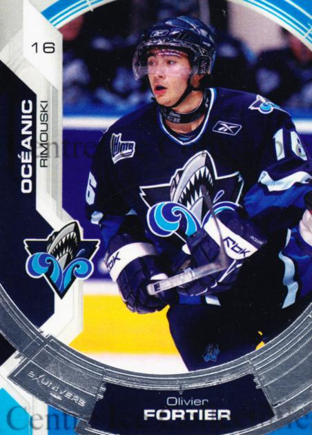 2006-07 Rimouski Oceanic #1 Olivier Fortier<br/>1 In Stock - $3.00 each - <a href=https://centericecollectibles.foxycart.com/cart?name=2006-07%20Rimouski%20Oceanic%20%231%20Olivier%20Fortier...&quantity_max=1&price=$3.00&code=539960 class=foxycart> Buy it now! </a>