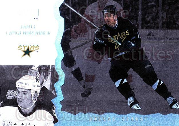 1996-97 UD Ice #15 Jamie Langenbrunner<br/>10 In Stock - $1.00 each - <a href=https://centericecollectibles.foxycart.com/cart?name=1996-97%20UD%20Ice%20%2315%20Jamie%20Langenbru...&quantity_max=10&price=$1.00&code=54014 class=foxycart> Buy it now! </a>