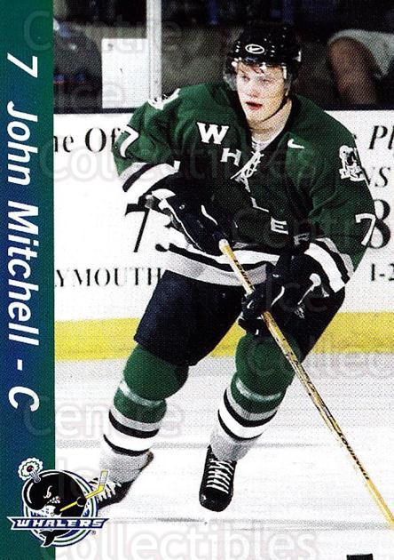 2002-03 Plymouth Whalers #15 John Mitchell<br/>1 In Stock - $3.00 each - <a href=https://centericecollectibles.foxycart.com/cart?name=2002-03%20Plymouth%20Whalers%20%2315%20John%20Mitchell...&quantity_max=1&price=$3.00&code=540211 class=foxycart> Buy it now! </a>