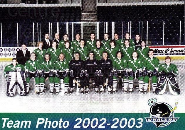 2002-03 Plymouth Whalers #30 Team Photo<br/>1 In Stock - $2.00 each - <a href=https://centericecollectibles.foxycart.com/cart?name=2002-03%20Plymouth%20Whalers%20%2330%20Team%20Photo...&price=$2.00&code=540237 class=foxycart> Buy it now! </a>