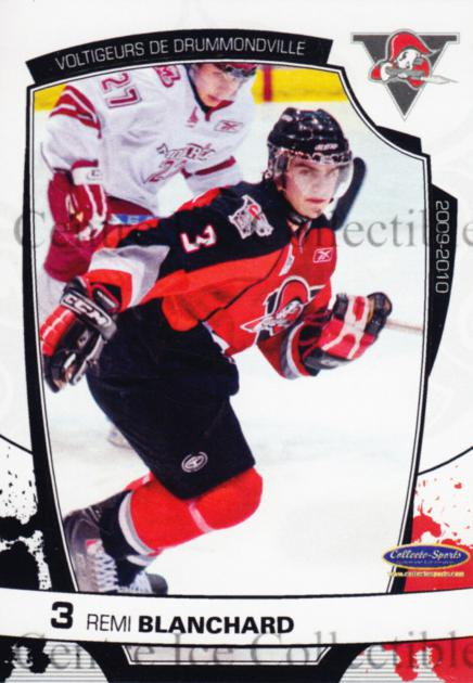 2009-10 Drummondville Voltigeurs #24 Remi Blanchard<br/>1 In Stock - $3.00 each - <a href=https://centericecollectibles.foxycart.com/cart?name=2009-10%20Drummondville%20Voltigeurs%20%2324%20Remi%20Blanchard...&quantity_max=1&price=$3.00&code=540342 class=foxycart> Buy it now! </a>