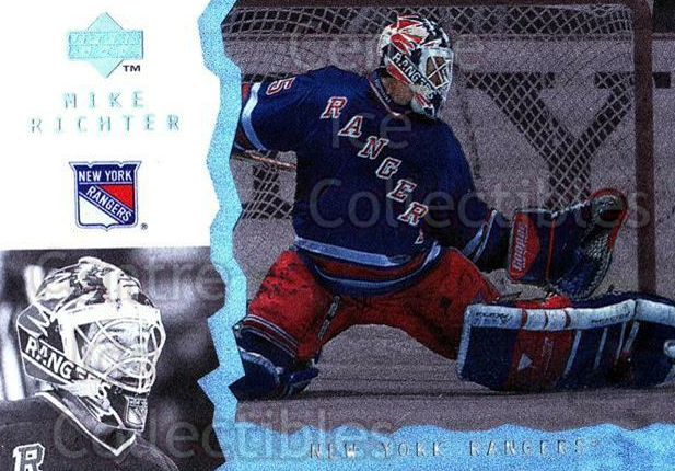 1996-97 UD Ice #41 Mike Richter<br/>7 In Stock - $1.00 each - <a href=https://centericecollectibles.foxycart.com/cart?name=1996-97%20UD%20Ice%20%2341%20Mike%20Richter...&quantity_max=7&price=$1.00&code=54041 class=foxycart> Buy it now! </a>