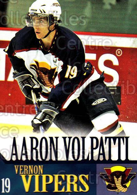 2005-06 Vernon Vipers #20 Aaron Volpatti<br/>1 In Stock - $3.00 each - <a href=https://centericecollectibles.foxycart.com/cart?name=2005-06%20Vernon%20Vipers%20%2320%20Aaron%20Volpatti...&quantity_max=1&price=$3.00&code=540515 class=foxycart> Buy it now! </a>