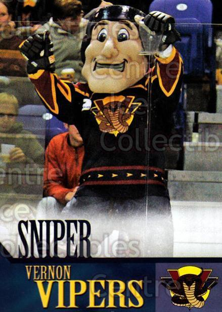 2005-06 Vernon Vipers #24 Mascot<br/>1 In Stock - $3.00 each - <a href=https://centericecollectibles.foxycart.com/cart?name=2005-06%20Vernon%20Vipers%20%2324%20Mascot...&quantity_max=1&price=$3.00&code=540519 class=foxycart> Buy it now! </a>
