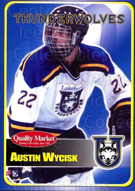 2003-04 Lakehead University Thunderwolves #2 Austin Wycisk<br/>2 In Stock - $3.00 each - <a href=https://centericecollectibles.foxycart.com/cart?name=2003-04%20Lakehead%20University%20Thunderwolves%20%232%20Austin%20Wycisk...&quantity_max=2&price=$3.00&code=540569 class=foxycart> Buy it now! </a>