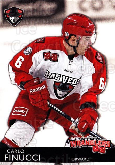 2012-13 Las Vegas Wranglers #6 Carlo Finucci<br/>1 In Stock - $3.00 each - <a href=https://centericecollectibles.foxycart.com/cart?name=2012-13%20Las%20Vegas%20Wranglers%20%236%20Carlo%20Finucci...&quantity_max=1&price=$3.00&code=540633 class=foxycart> Buy it now! </a>