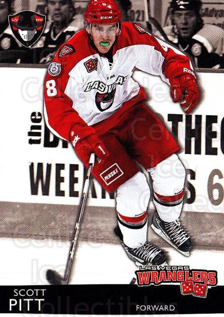 2012-13 Las Vegas Wranglers #21 Scott Pitt<br/>1 In Stock - $3.00 each - <a href=https://centericecollectibles.foxycart.com/cart?name=2012-13%20Las%20Vegas%20Wranglers%20%2321%20Scott%20Pitt...&quantity_max=1&price=$3.00&code=540648 class=foxycart> Buy it now! </a>