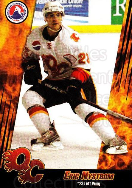2007-08 Quad City Flames #8 Eric Nystrom<br/>1 In Stock - $3.00 each - <a href=https://centericecollectibles.foxycart.com/cart?name=2007-08%20Quad%20City%20Flames%20%238%20Eric%20Nystrom...&quantity_max=1&price=$3.00&code=540659 class=foxycart> Buy it now! </a>