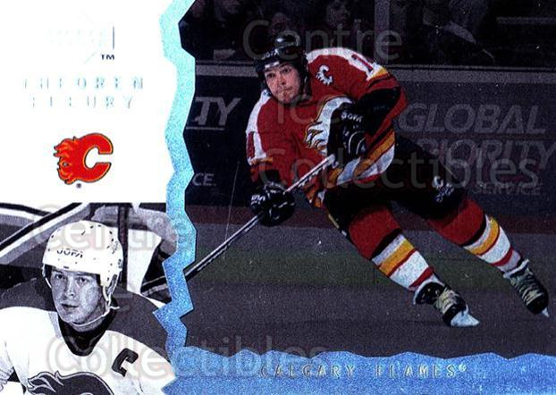 1996-97 UD Ice #9 Theo Fleury<br/>10 In Stock - $1.00 each - <a href=https://centericecollectibles.foxycart.com/cart?name=1996-97%20UD%20Ice%20%239%20Theo%20Fleury...&quantity_max=10&price=$1.00&code=54088 class=foxycart> Buy it now! </a>