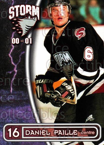 2000-01 Guelph Storm #21 Daniel Paille<br/>1 In Stock - $3.00 each - <a href=https://centericecollectibles.foxycart.com/cart?name=2000-01%20Guelph%20Storm%20%2321%20Daniel%20Paille...&quantity_max=1&price=$3.00&code=540928 class=foxycart> Buy it now! </a>