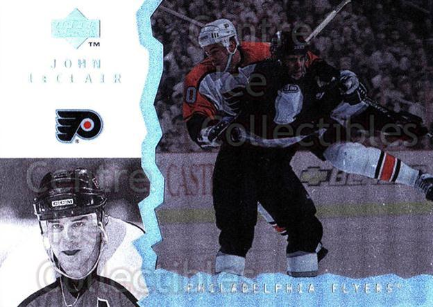 1996-97 UD Ice #98 John LeClair<br/>10 In Stock - $1.00 each - <a href=https://centericecollectibles.foxycart.com/cart?name=1996-97%20UD%20Ice%20%2398%20John%20LeClair...&quantity_max=10&price=$1.00&code=54096 class=foxycart> Buy it now! </a>