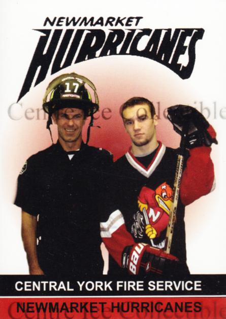 2005-06 Newmarket Hurricanes #1 Header Card<br/>1 In Stock - $3.00 each - <a href=https://centericecollectibles.foxycart.com/cart?name=2005-06%20Newmarket%20Hurricanes%20%231%20Header%20Card...&price=$3.00&code=540972 class=foxycart> Buy it now! </a>