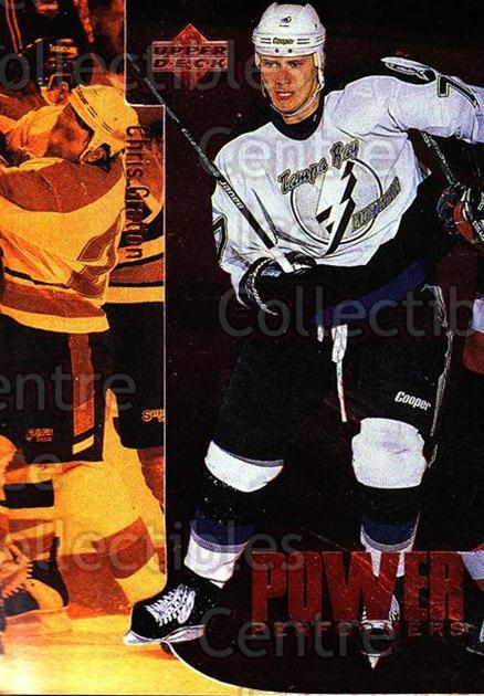 1996-97 Upper Deck Power Performers #10 Chris Gratton<br/>4 In Stock - $2.00 each - <a href=https://centericecollectibles.foxycart.com/cart?name=1996-97%20Upper%20Deck%20Power%20Performers%20%2310%20Chris%20Gratton...&quantity_max=4&price=$2.00&code=54102 class=foxycart> Buy it now! </a>