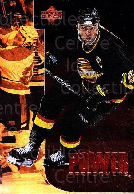 1996-97 Upper Deck Power Performers #16 Trevor Linden<br/>3 In Stock - $2.00 each - <a href=https://centericecollectibles.foxycart.com/cart?name=1996-97%20Upper%20Deck%20Power%20Performers%20%2316%20Trevor%20Linden...&quantity_max=3&price=$2.00&code=54106 class=foxycart> Buy it now! </a>