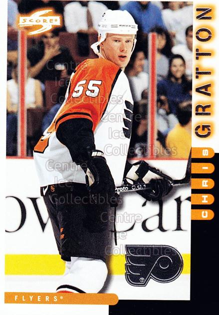 1997-98 Score Philadelphia Flyers #6 Chris Gratton<br/>1 In Stock - $2.00 each - <a href=https://centericecollectibles.foxycart.com/cart?name=1997-98%20Score%20Philadelphia%20Flyers%20%236%20Chris%20Gratton...&quantity_max=1&price=$2.00&code=541097 class=foxycart> Buy it now! </a>