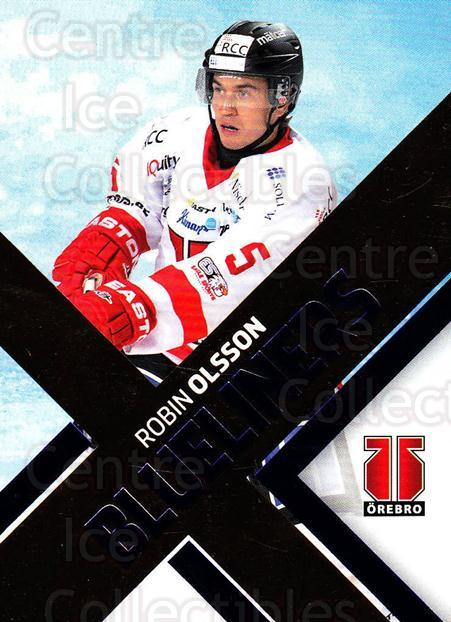 2012-13 Swedish Hockey Allsvenskan BlueLiners #14 Robin Olsson<br/>1 In Stock - $3.00 each - <a href=https://centericecollectibles.foxycart.com/cart?name=2012-13%20Swedish%20Hockey%20Allsvenskan%20BlueLiners%20%2314%20Robin%20Olsson...&quantity_max=1&price=$3.00&code=541817 class=foxycart> Buy it now! </a>