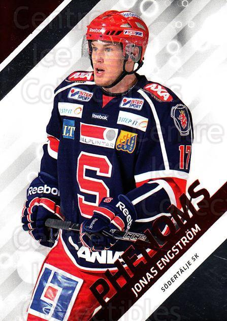 2012-13 Swedish Hockey Allsvenskan Phenoms #8 Jonas Engstrom<br/>2 In Stock - $3.00 each - <a href=https://centericecollectibles.foxycart.com/cart?name=2012-13%20Swedish%20Hockey%20Allsvenskan%20Phenoms%20%238%20Jonas%20Engstrom...&quantity_max=2&price=$3.00&code=541867 class=foxycart> Buy it now! </a>