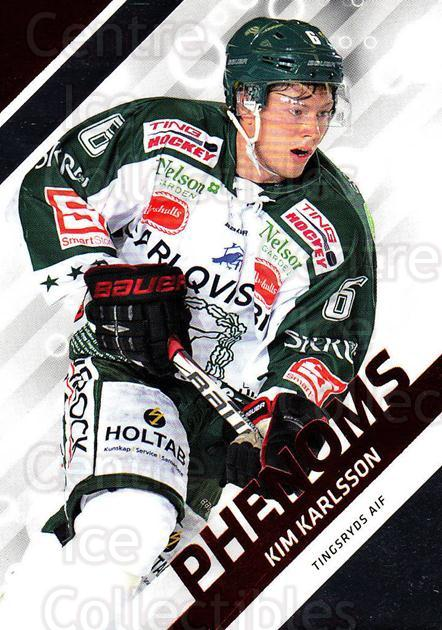 2012-13 Swedish Hockey Allsvenskan Phenoms #9 Kim Karlsson<br/>2 In Stock - $3.00 each - <a href=https://centericecollectibles.foxycart.com/cart?name=2012-13%20Swedish%20Hockey%20Allsvenskan%20Phenoms%20%239%20Kim%20Karlsson...&quantity_max=2&price=$3.00&code=541868 class=foxycart> Buy it now! </a>