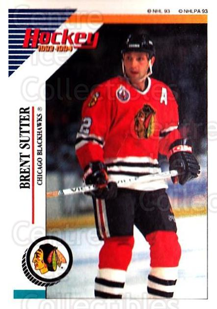 1993-94 Panini Stickers #151 Brent Sutter<br/>5 In Stock - $1.00 each - <a href=https://centericecollectibles.foxycart.com/cart?name=1993-94%20Panini%20Stickers%20%23151%20Brent%20Sutter...&quantity_max=5&price=$1.00&code=541 class=foxycart> Buy it now! </a>