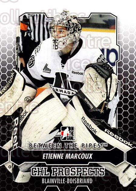 2012-13 Between The Pipes #5 Etienne Marcoux<br/>1 In Stock - $1.00 each - <a href=https://centericecollectibles.foxycart.com/cart?name=2012-13%20Between%20The%20Pipes%20%235%20Etienne%20Marcoux...&quantity_max=1&price=$1.00&code=542075 class=foxycart> Buy it now! </a>