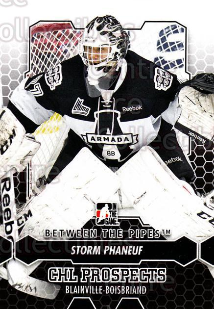 2012-13 Between The Pipes #6 Storm Phaneuf<br/>9 In Stock - $1.00 each - <a href=https://centericecollectibles.foxycart.com/cart?name=2012-13%20Between%20The%20Pipes%20%236%20Storm%20Phaneuf...&quantity_max=9&price=$1.00&code=542076 class=foxycart> Buy it now! </a>