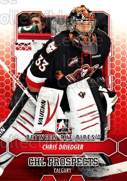 2012-13 Between The Pipes #9 Chris Driedger<br/>9 In Stock - $1.00 each - <a href=https://centericecollectibles.foxycart.com/cart?name=2012-13%20Between%20The%20Pipes%20%239%20Chris%20Driedger...&quantity_max=9&price=$1.00&code=542079 class=foxycart> Buy it now! </a>