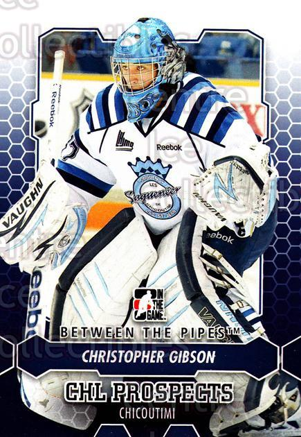 2012-13 Between The Pipes #11 Christopher Gibson<br/>5 In Stock - $1.00 each - <a href=https://centericecollectibles.foxycart.com/cart?name=2012-13%20Between%20The%20Pipes%20%2311%20Christopher%20Gib...&quantity_max=5&price=$1.00&code=542081 class=foxycart> Buy it now! </a>