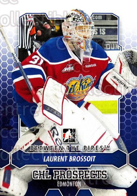 2012-13 Between The Pipes #14 Laurent Brossoit<br/>4 In Stock - $1.00 each - <a href=https://centericecollectibles.foxycart.com/cart?name=2012-13%20Between%20The%20Pipes%20%2314%20Laurent%20Brossoi...&quantity_max=4&price=$1.00&code=542084 class=foxycart> Buy it now! </a>