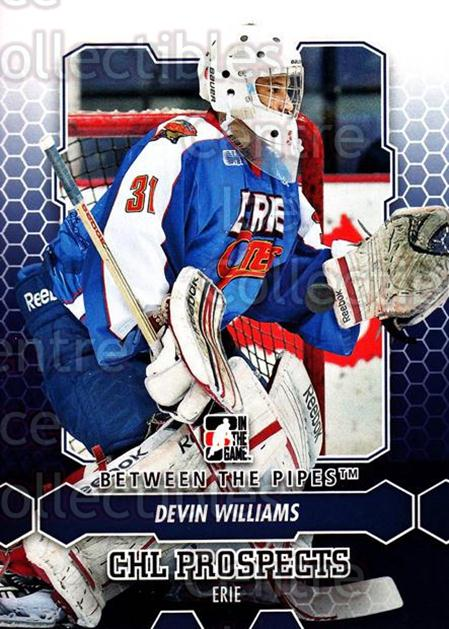 2012-13 Between The Pipes #16 Devin Williams<br/>9 In Stock - $1.00 each - <a href=https://centericecollectibles.foxycart.com/cart?name=2012-13%20Between%20The%20Pipes%20%2316%20Devin%20Williams...&quantity_max=9&price=$1.00&code=542086 class=foxycart> Buy it now! </a>
