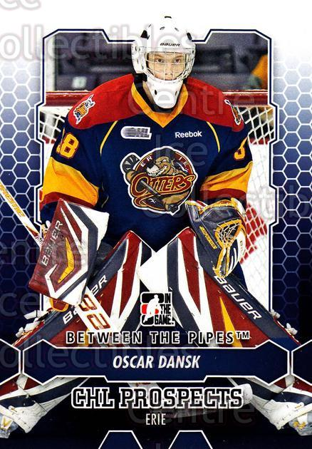 2012-13 Between The Pipes #17 Oscar Dansk<br/>11 In Stock - $1.00 each - <a href=https://centericecollectibles.foxycart.com/cart?name=2012-13%20Between%20The%20Pipes%20%2317%20Oscar%20Dansk...&quantity_max=11&price=$1.00&code=542087 class=foxycart> Buy it now! </a>
