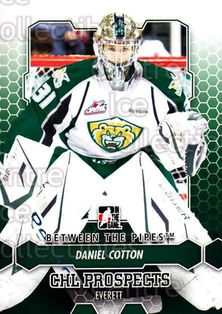 2012-13 Between The Pipes #19 Daniel Cotton<br/>9 In Stock - $1.00 each - <a href=https://centericecollectibles.foxycart.com/cart?name=2012-13%20Between%20The%20Pipes%20%2319%20Daniel%20Cotton...&quantity_max=9&price=$1.00&code=542089 class=foxycart> Buy it now! </a>